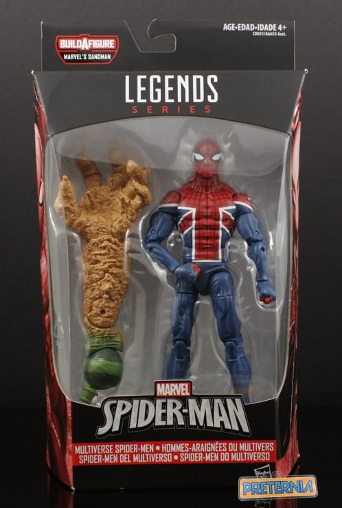 Hasbro Marvel Legends Sandman BAF Spider-UK Review