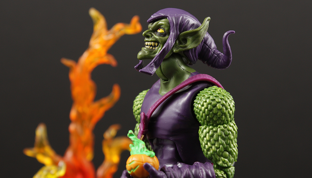 Hasbro Marvel Legends Sandman BAF Green Goblin Review