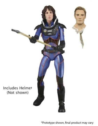 NECA Prometheus Lost Wave Shaw Vickers Fifield