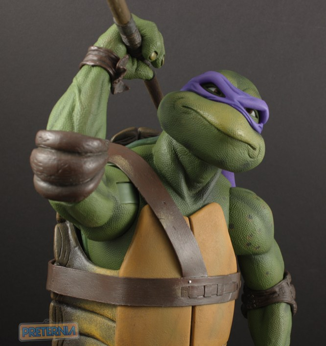 NECA TMNT Movie Donatello 1/4 Scale Review