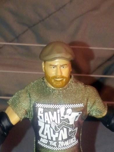 Mattel WWE Elite Then Now Forever Sami Zayn Review