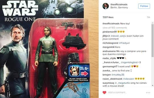 Hasbro Star Wars Rogue One 3.75-inch Gale Erso