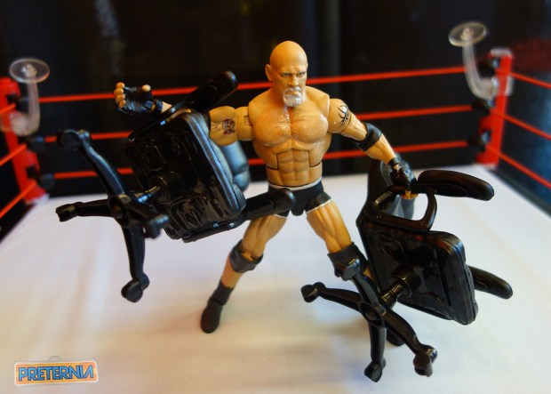 Mattel WWE Toy Fair 2017 Goldberg Elite