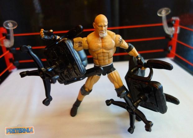 Mattel WWE Toy Fair 2017 Goldberg Elite