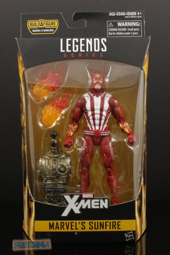 Hasbro Marvel Legends Warlock Series Sunfire Review