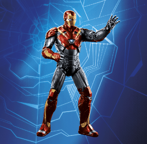 MARVEL LEGENDS SERIES 6-INCH FIGURE MOVIE 2-PACKS (Iron Man)