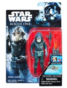 STAR WARS 3.75-INCH FIGURE Assortment (Admiral Raddus) - in pkg