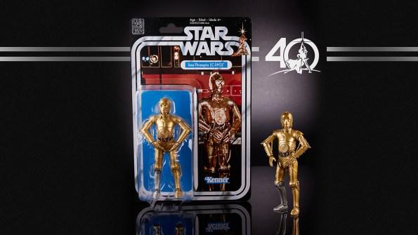 STAR WARS THE BLACK SERIES 6-INCH 40th ANNIVERSARY - C-3PO (in pkg)