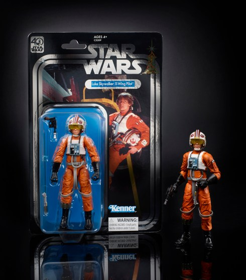 STAR WARS THE BLACK SERIES 6-INCH 40th ANNIVERSARY Celebration Exclusive - Luke Skywalker (oop 4)