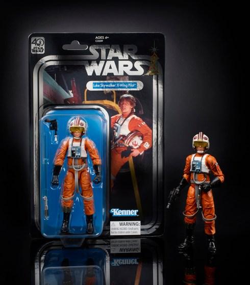 STAR WARS THE BLACK SERIES 6-INCH 40th ANNIVERSARY Celebration Exclusive - Luke Skywalker (oop 4)