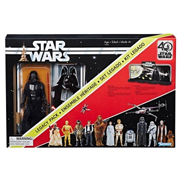 STAR WARS THE BLACK SERIES 6-INCH 40th ANNIVERSARY Legacy Pack - Darth Vader (2)