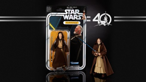 STAR WARS THE BLACK SERIES 6-INCH 40th ANNIVERSARY - Obi Wan Kenobi (in pkg)