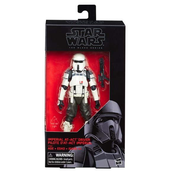 STAR WARS THE BLACK SERIES 6-INCH Target Exclusive - AT-ACT Driver (in pkg)