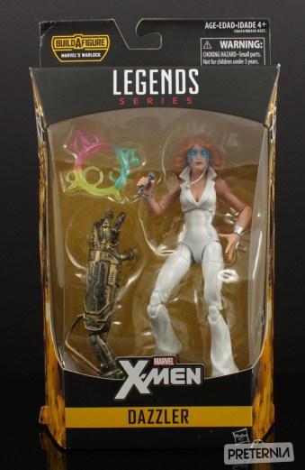 Hasbro Marvel Legends Warlock Series Dazzler Review