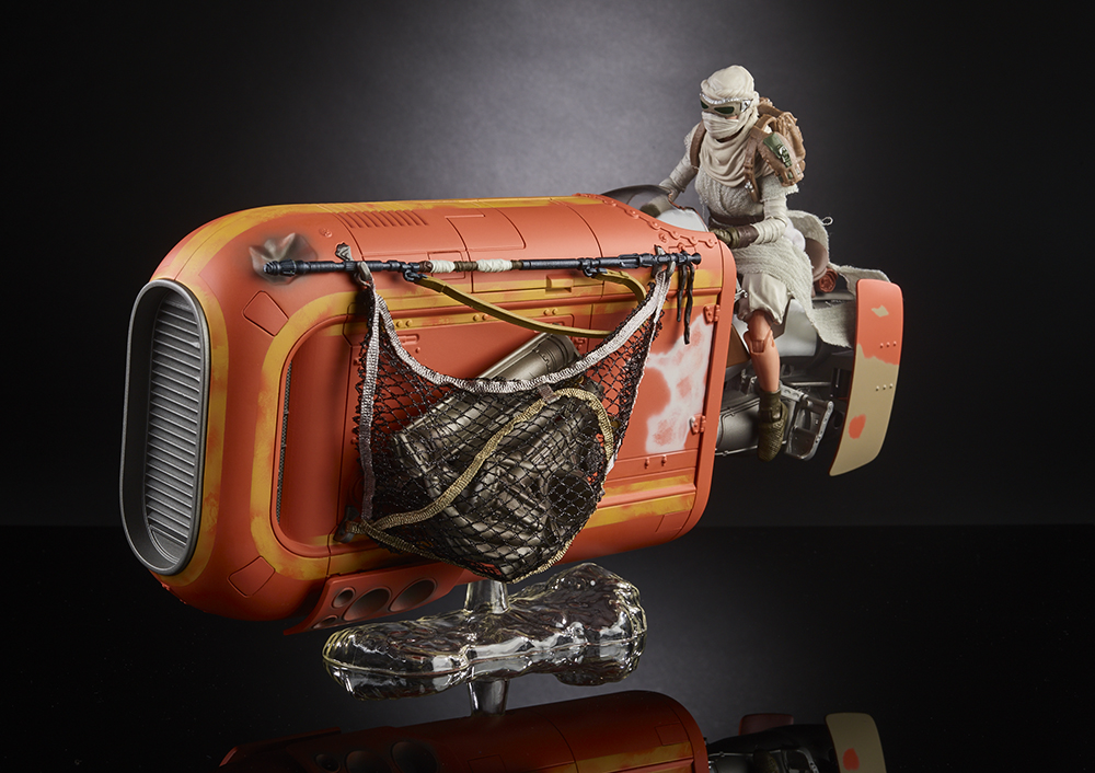 Hasbro Star Wars Black Series Rey Speeder