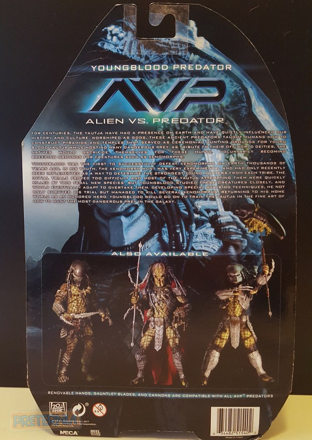 NECA Predator Series 17 AvP Youngblood Predator Review
