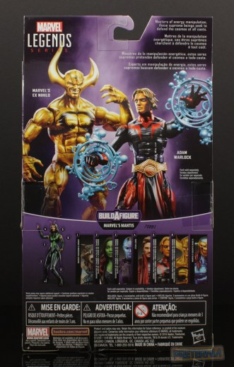Marvel Legends GOTG Mantis Series Adam Warlock Review