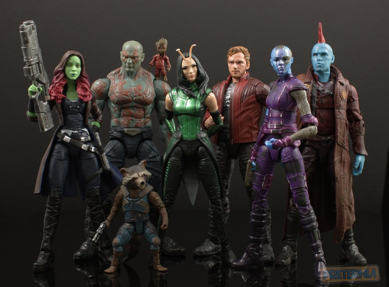 Hasbro Marvel Legends Mantis Build-A-Figure Guardians of the Galaxy Review