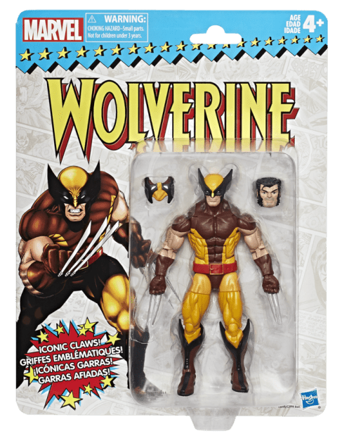 Marvel Vintage Legends Series 6-inch Wolverine