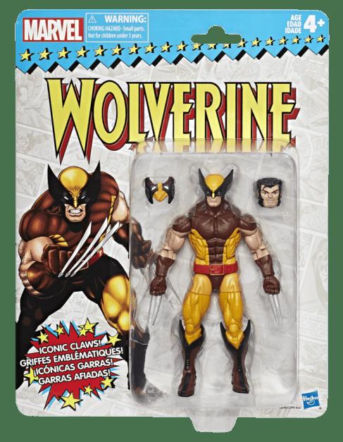 Marvel Vintage Legends Series 6-inch Wolverine