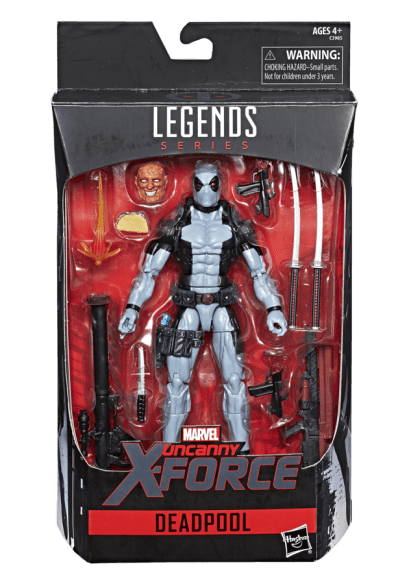 Marvel Legends 6-Inch Uncanny X-Force Deadpool Figure - in pkg