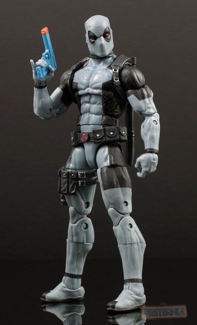 Hasbro Marvel Legends HASCON Exclusive X-Force Deadpool Review