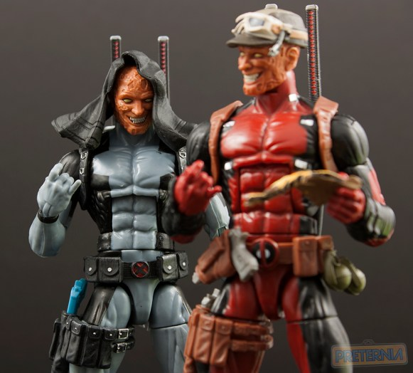 Hasbro Marvel Legends HASCON Exclusive X-Force Deadpool Review