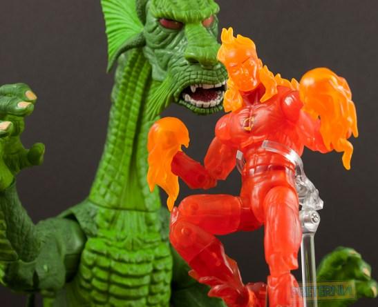 Hasbro Marvel Legends Walgreens Fantastic Four Human Torch Review