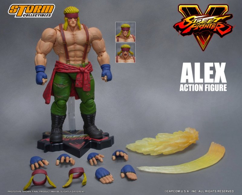Storm Collectibles: Street Fighter V Alex Official Announcement