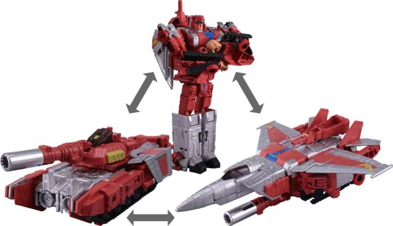 Takara: Transformer x Street Fighter Official Pictures