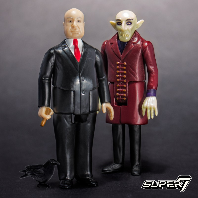 Super7: New Iron Maiden and Alfred Hitchcock Out Next Week