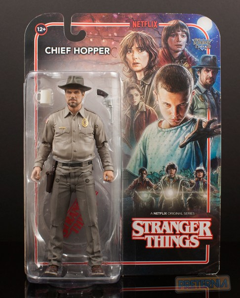 McFarlane Toys Stranger Things Chief Hopper Review