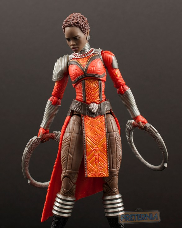 Marvel Legends Black Panther Okoye Series Nakia Review