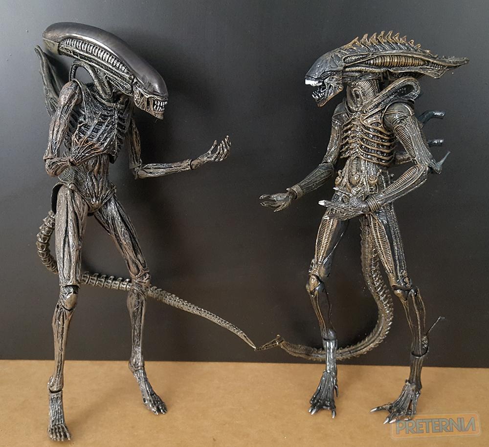 NECA Aliens Series 11 (Lambert, Defiance Xenomorph, Kenner Blue Big Chap) Review