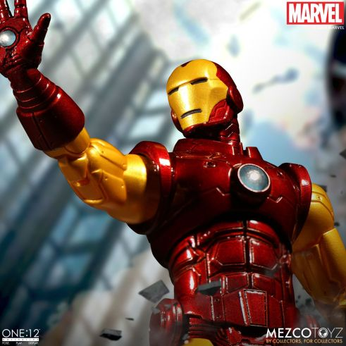 Mezco: One:12 Marvel Iron Man Available for Preorder