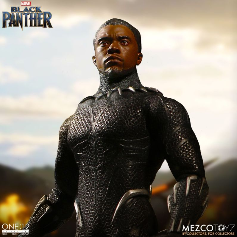 Mezco: One:12 Marvel MCU Black Panther Available for Preorder