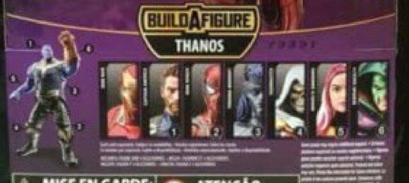 Hasbro Marvel Legends Infinty War Thanos BAF