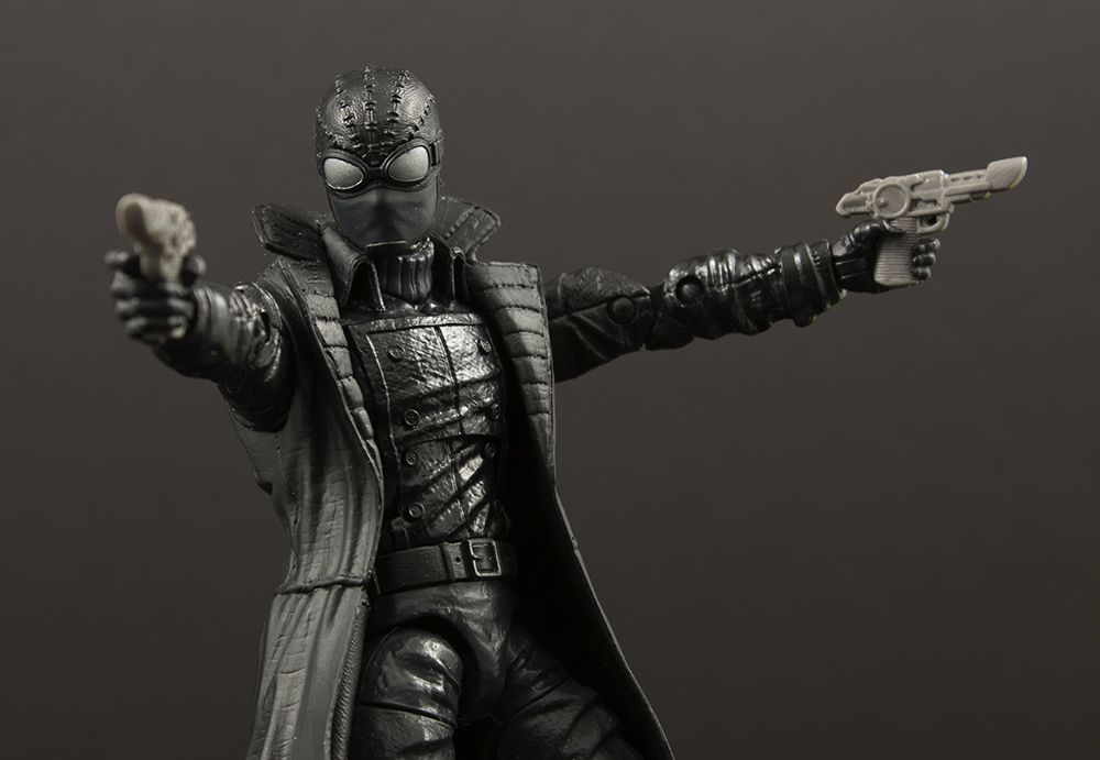 Marvel Legends Spider-Man Lizard Series Spider-Man Noir Review