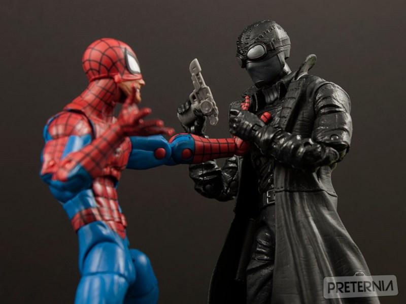 Marvel Legends Spider-Man Lizard Series Spider-Man Noir Review