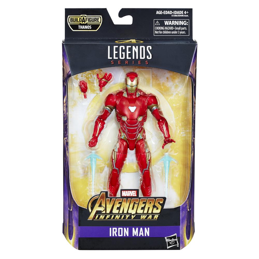 MARVEL AVENGERS INFINITY WAR LEGENDS SERIES 6-INCH Figure Assortment (Iron Man) - in pkg
