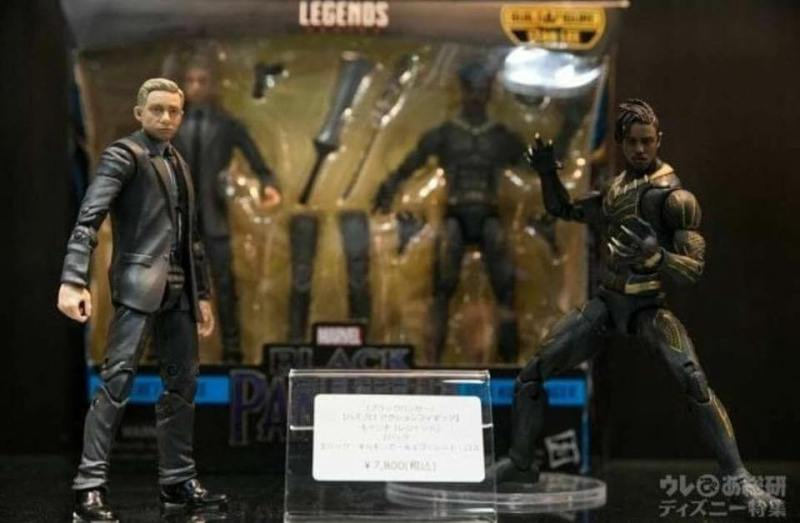 Stan Lee Build-a-Figure Everett Ross Erik Killmonger Hasbro