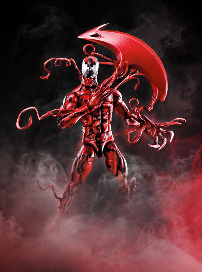 Carnage Hasbro: Venom Marvel Legends Wave and Other Action Figures Revealed