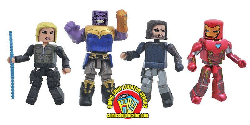 DST: The War Reaches Comic Shops with Avengers Infinity War Minimates!