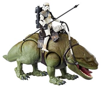 Hasbro: Star Wars Black Series Dewback, Solo, and More Official Images