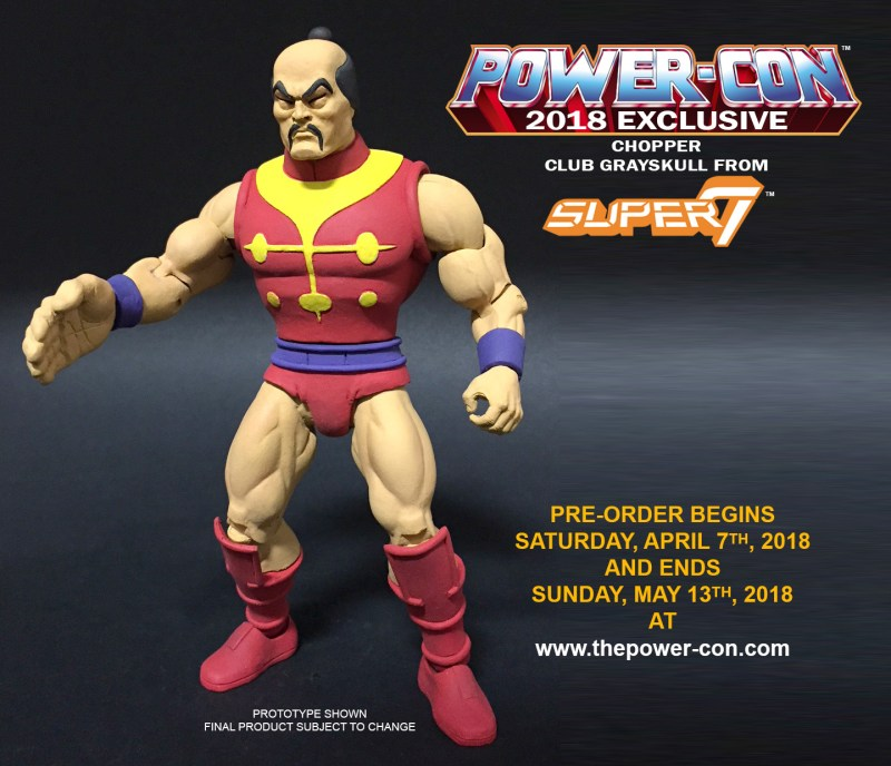 Super7: Power Con Exclusive MOTUC Filmation Chopper Revealed