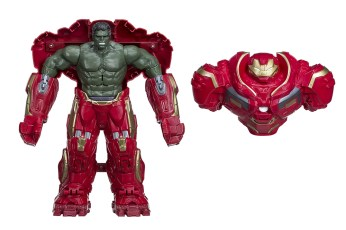 Hasbro: Marvel Avengers: Infinity War Hulk Out Hulkbuster Figure Reveal