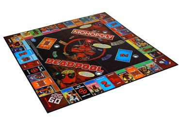 MONOPOLY GAME MARVEL DEADPOOL COLLECTOR'S EDITION - oop