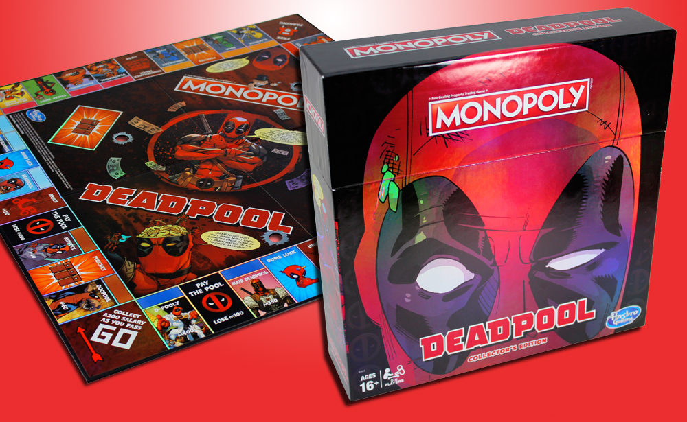 Hasbro: Marvel Deadpool Monopoly Available for Preorder Now