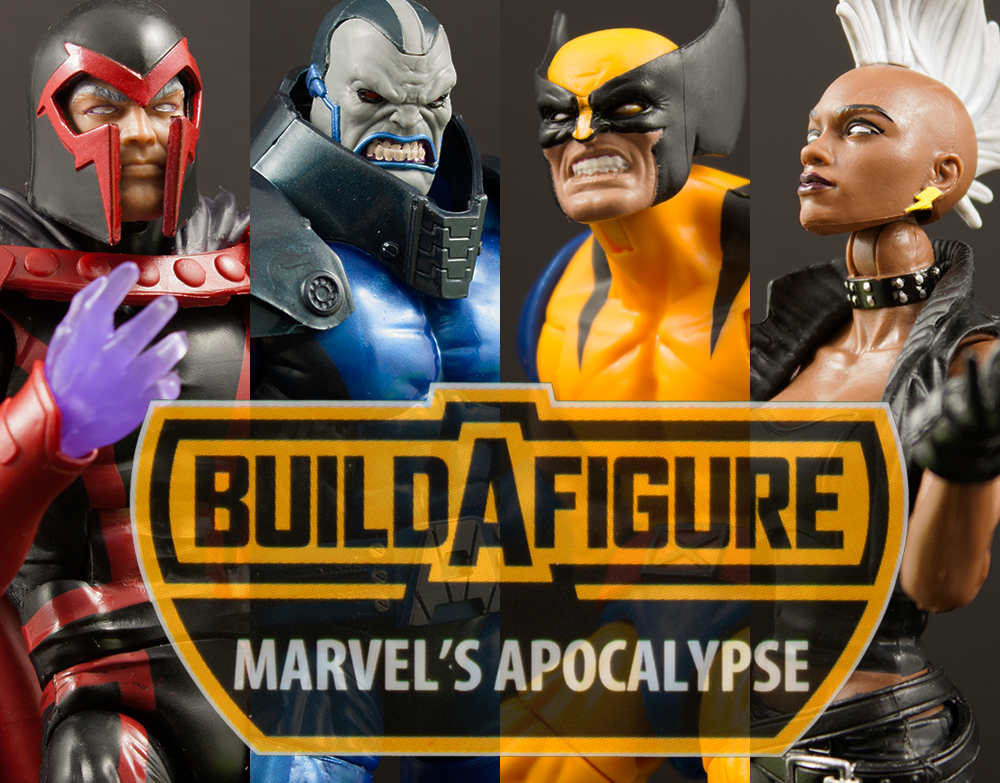 Marvel Legends Apocalypse Build-A-Figure Series Hasbro