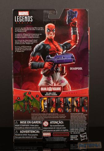 Marvel Legends Deadpool Sauron BAF Series Deadpool in Boxers Review